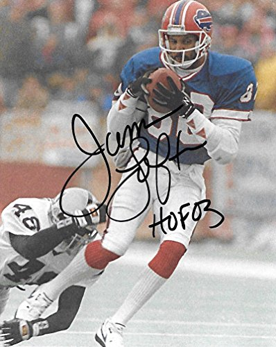 James Lofton Signed Buffalo Bills (James Lofton, Buffalo Bills, Signed, Autographed, Football 8X10 Photo, a Coa with the Proof Photo of James Signing Will Be Included..)