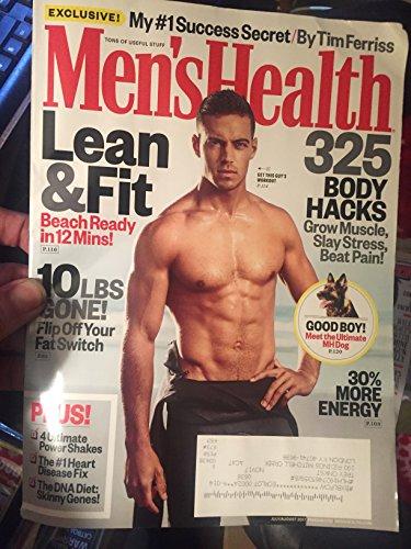MEN'S HEALTH MAGAZINE--JULY/AUGUST 2017 ISSUE