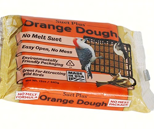 Wildlife Sciences WSC357 Orange No-Melt Suet Dough - Orange Suet Dough