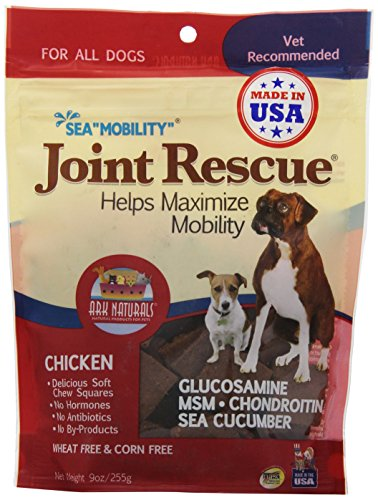 ARK Naturals 326053 Joint rescue Sea Mobility Chicken Jerky Strips for Pets, 9-Ounce by PIE TREATS