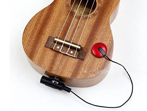 EFORCAR Piezo Pickup Contact Microphone Pickup For Guitar Ukulele Violin(Most Musical ()