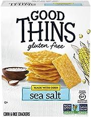 GOOD THINS Corn Sea Salt Gluten Free Crackers 100 g