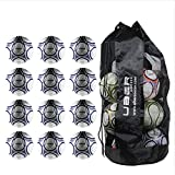 Uber Soccer Trainer Soccer Ball Bundle - Set of 12 - Size 5