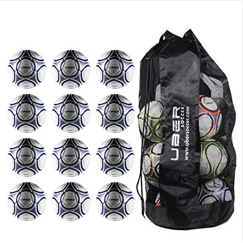 Uber Soccer Trainer Soccer Ball Bundle - Set of 12 - Size 5 by Uber Soccer (Image #2)