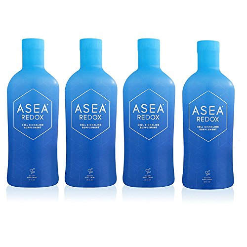 New and Improved Asea Redox Supplement Water - 1 Full Case (4 - 32oz Bottles)