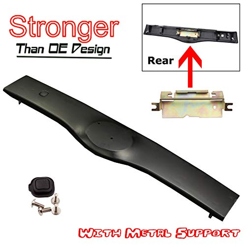 - CF Advance For 04-09 Toyota Prius Rear Exterior Tailgate Liftgate Handle Garnish Non Painted Black NPB 2004 2005 2006 2007 2008 2009