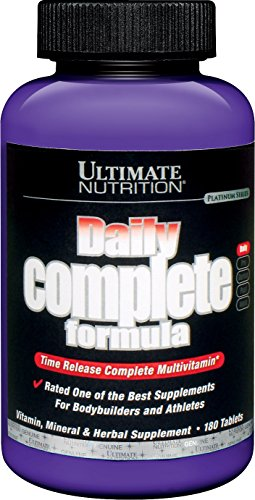 Ultimate Nutrition Daily Complete Formula, 180 Tablets 180 tablets Review