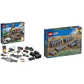 Lego City Güterzug 60198 Kinderspielzeug Lego City Schienen
