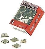 JPC Créations Trombone Clip chromé 6 mm Gris Boite de 50