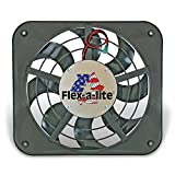 Flex-a-lite 111 Lo-Profile S-Blade Electric Puller Fan