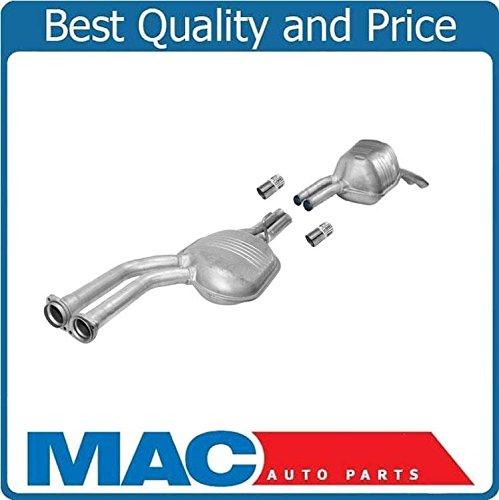 Mac Auto Parts 68348 98-02 Mercedes E320 4 Door Exhaust Pipe Front & Rear Muffler 4-Matic Sedan Welding Required