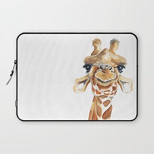 (Eratio Giraffe Neoprene Laptop Sleeve 13 Inch MacBook Air Case MacBook Pro Sleeve and 13 Inch Laptop Bag)