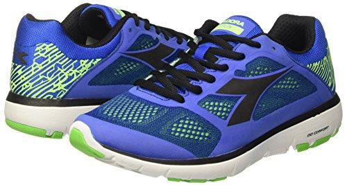 X Diadora Pour Chaussures Nero De Competition Bleu Hommes azzurro Course wxaEtqECU
