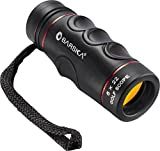 BARSKA 8x22 mm Waterproof Free Focus Monocular Scope for Bird Watching/Hunting/ Camping/Hiking / Golf/Concert/ Surveillance