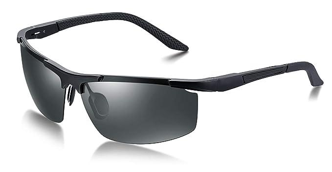 WHCREAT Gafas de Sol Polarizadas para Deporte Hombres con ...