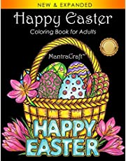 Happy Easter: Coloring Book for Adults