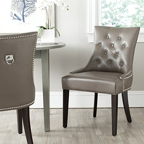 Safavieh Mercer Collection Harlow Ring Chair, Clay, Set of 2 ()
