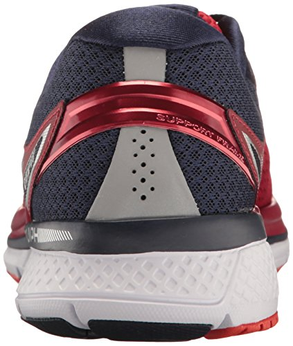 Saucony Triumph Iso 3, Chaussures de Running Homme Rouge (Red/Navy)