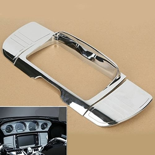 Tri Line Stereo Trim Cover for Harley Touring Electra Street Glide Ultra 2014-up (Rental Costumes)