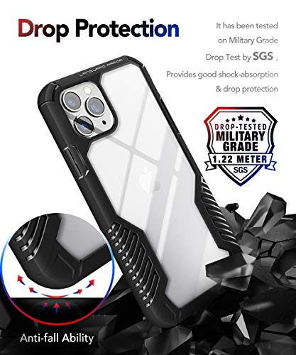 MOBOSI Vanguard Armor Designed for iPhone 11 Pro Case, Rugged Cell Phone Cases, Heavy Duty Military Grade Shockproof…