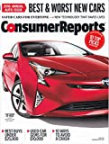 img - for Consumer Reports Annual Auto Issue - April 2016 book / textbook / text book