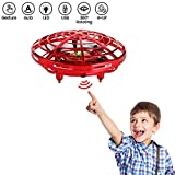 UFO Flying Ball Toys, Voluex JJRC Hand Controlled Drone Quadcopter Altitude Hold Infrared Sensing Control Mini RC Drones Helicopter Gift for Kids Boys Girls
