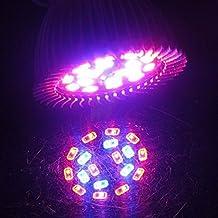 BBire 18 LED E27 Grow Light Lamp Veg Flower Indoor Hydroponic Plant Full Spectrum 18W