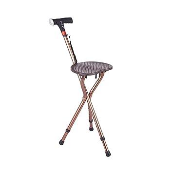 GZHYZ Muletas ancianas sillas multifuncionales muletas Inteligente ...