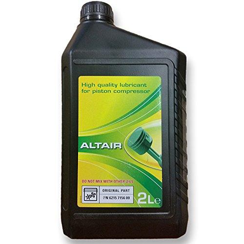 Aceite sintético Altair 2 litros para compresor de pistón ABAC DeVilbiss: Amazon.es: Bricolaje y herramientas
