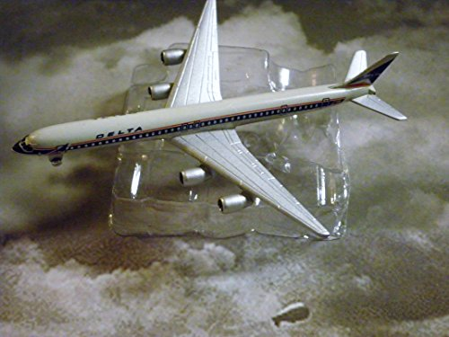 - Schabak Delta Airlines Douglas DC-8-60 Jet Plane 1:600 Scale Die-cast Plane Made in Germany