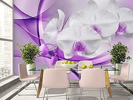 Murals XXL Pictures Flowers Orchid SHEET CANVAS ART PRINT 008355P