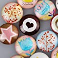 25mm Round One Style Mix Pattern Photo Glass Cabochon-20pcs/lot (C4305)