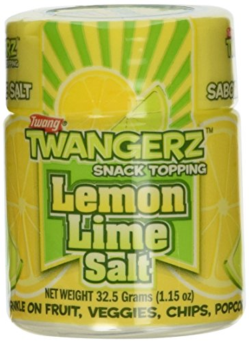 Twang 10 Pack Lemon-Lime 1.15oz Salt Shakers