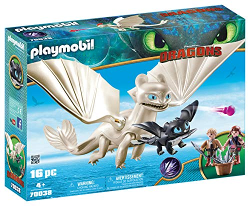 PLAYMOBIL® How to Train Your Dragon III Light Fury with Baby Dragon & Children