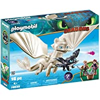 PLAYMOBIL® How to Train Your Dragon III Light Fury with...