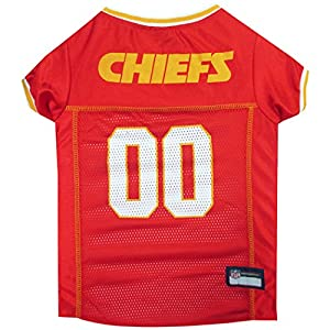 NFL PET JERSEY. - Football Licensed Dog Jersey. - 32 NFL Teams Available. - Comes in 6 Sizes. - Football Pet Jersey. - Sports Mesh Jersey. - Dog Jersey Outfit. - NFL Dog Jersey