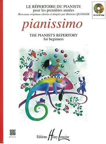 Béatrice Quoniam : Pianissimo. Partitions pour Piano