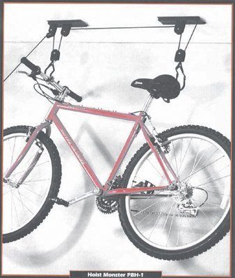 Racor Bike Rack Lifts Ceiling Bicycle Mount 2 ()