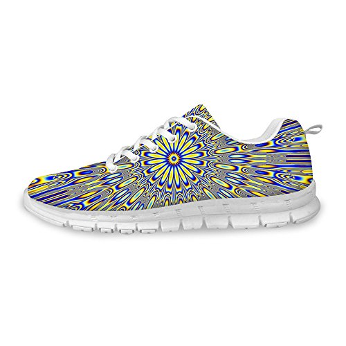 FOR U DESIGNS Stylish Womens Fashion Sneaker Casual Comfortable Athletic Walking Running Shoes Cool 2 iuwm05YEQ8