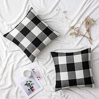 Amazon.com: Ashler Pack of 2 Corduroy Soft Velvet Striped ...
