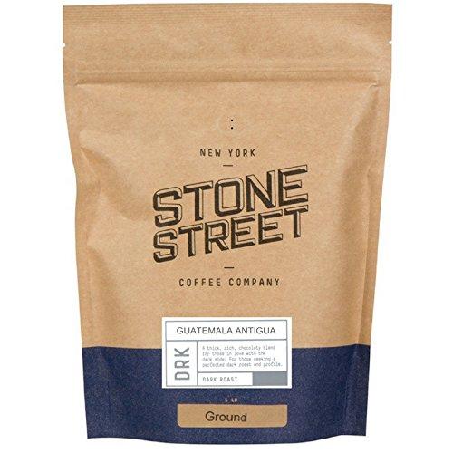 DARK GUATEMALA ANTIGUA Ground Gourmet Coffee | 1 LB Bag | Volcanic/High Altitude Soil - Single Origin Grown | Smooth, Medium-Body, Smoky Aroma