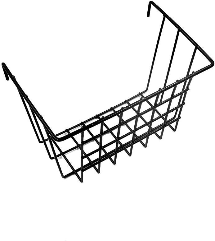 Multifunción de Malla de Alambre de Metal Wall Grid Panel montado Organizador de la Cesta de Almacenamiento,Estante de Pared para Colgar Cesta de Alambre para baño, Cocina, Sala de Estar