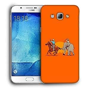 Diseñador Snoogg Teléfono protector de la cubierta del caso para Samsung Galaxy A8