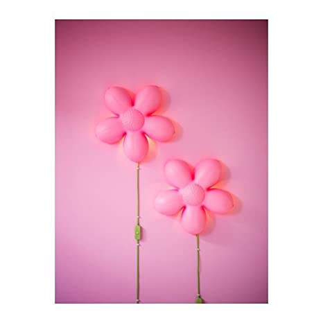 ikea childrens lighting. Ikea Smila Blomma Childrens Wall Lamp Pink Flower (Pink, 1) Lighting