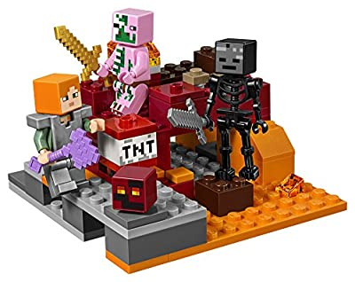 LEGO Minecraft the Nether Fight 21139 Building Kit (84 Piece) by LEGO
