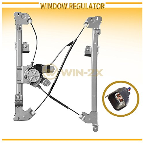 WIN-2X New 1pc Front Driver (Left) Side Power Window Regulator & Motor Assembly Fit 06-08 Lincoln Mark LT 04-08 Ford F150 Regular Cab & Crew Cab