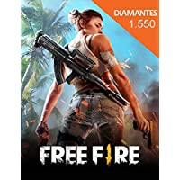 Free Fire 1550 Diamantes Gift Card