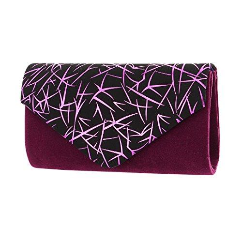 violet Pochette Novias femme doré Or pour Boutique 55qFZrY