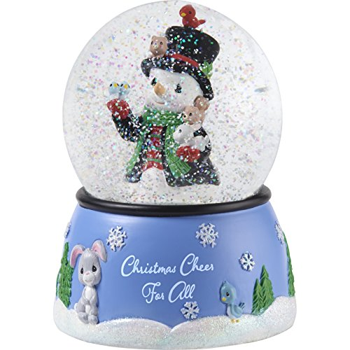 Snowman Snowglobe Christmas Figurine - Precious Moments