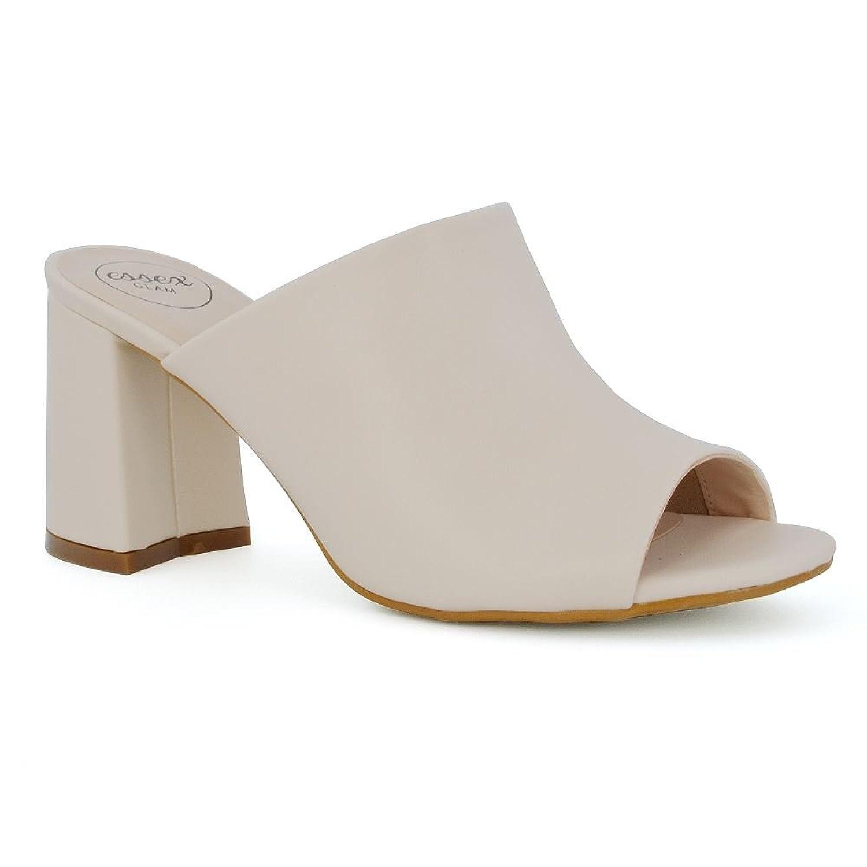 MINITOO QJ7036 Womens Fashion Strappy Suede Ballroom Latin Tango Dance Shoes